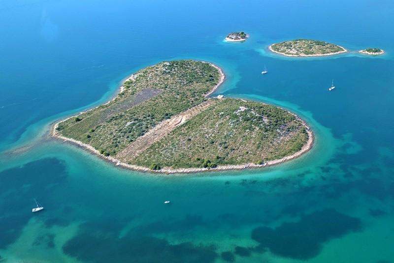 heart island-zadar-croatia
